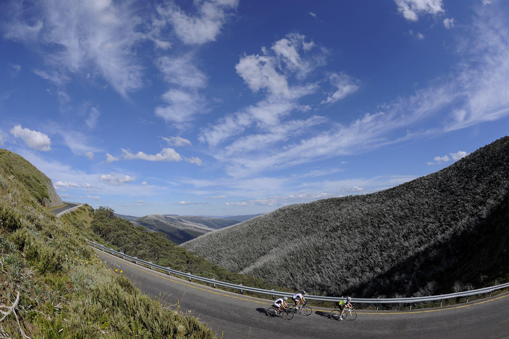 7 Peaks riders